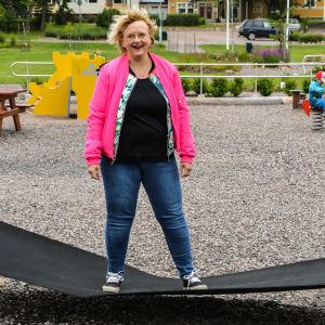 Lappträsk kommundirektör Tiina Heikka