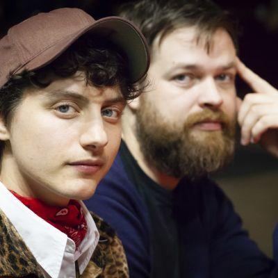 Nino Mick och Johannes Ekholm.