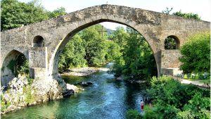 Roomalainen silta Asturiassa, Espanjassa