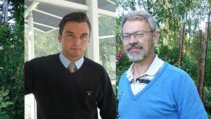 Joakim Strand och Michael Luther.