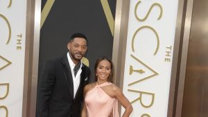 Will Smith med sin fru Jada Pinkett Smith