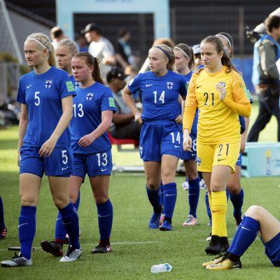 Finlands U17-landslag.