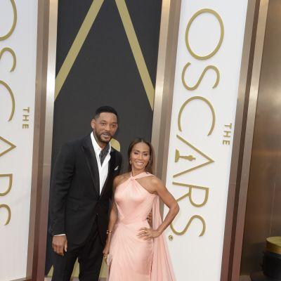 Will Smith med sin fru Jada Pinkett Smith