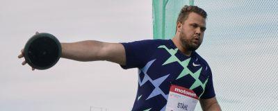 Den 1 augusti tävlade Daniel Ståhl i Kuortane.
