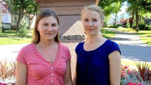 Forskarna Carola Ray och Riikka Kaukonen