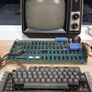 Apple-1 dator byggd 1976 av Steve Wozniak
