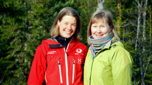 Tessa Turtonen och Martina Uotinen