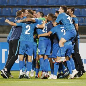 Zenit vände och vann i Europa League-