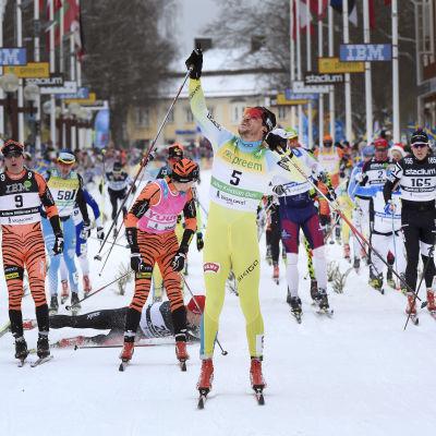 John Kristian Dahl, Vasaloppet 2016.