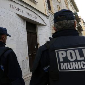 Fransk polis i Nice