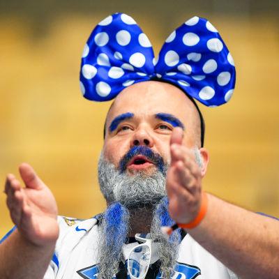 Finlands fans, ishockey-VM 2018.