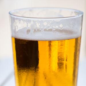 Ett glas öl
