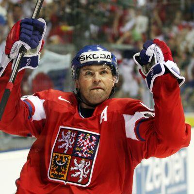 Jaromir Jagr spelar i kladno under NHL-lockouten