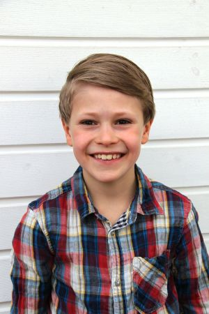 Rasmus Ekholm, han är finalist i MGP.
