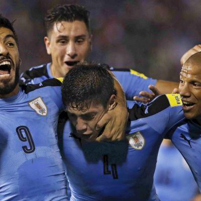 Uruguay tog ett steg närmare VM.