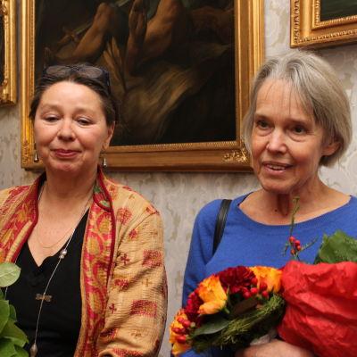 Susanne Ringell och Merete Mazzarella