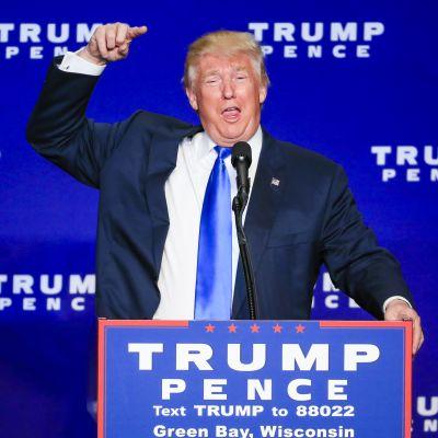 Donald Trumpin kampanja on ollut syksyn puheenaiheena kaikkialla maailmassa.