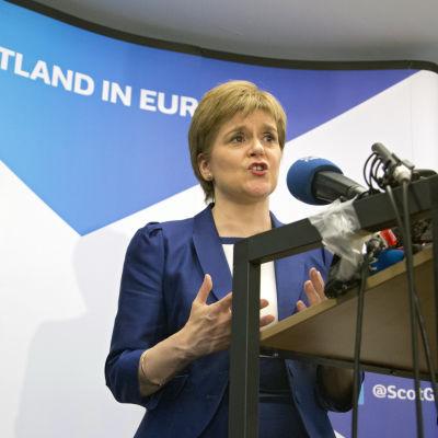 Nicola Sturgeon, premiärminister i Skottland