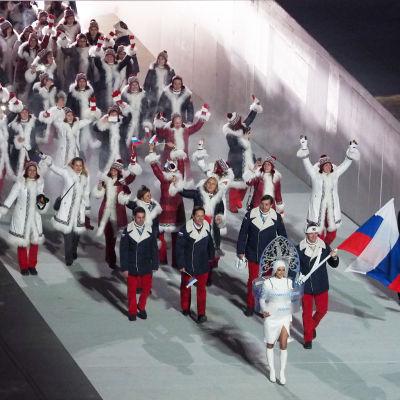 Ryska idrottare vann 13 guldmedaljer i Sotji 2014.