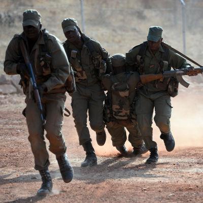Militärövning i Mali.