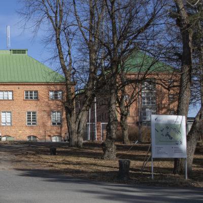 Joutsenon vastaanottokeskus.