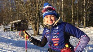 Rebecca Ehrnrooth är redo för sitt första stora mästerskap. JVM i Lahtis 2019.