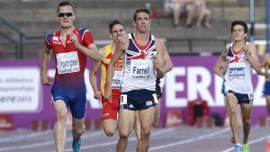 Henrin Ingebrigtsen vinner 5000m på U23-EM