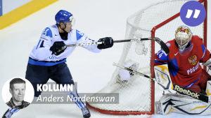 """Mikael Granlund gör """"ilmaveivi"""" mot Ryssland i VM 2011"""