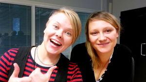 Anne Tastula och Anna Schoultz