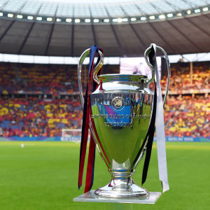 Champions League-pokalen i Berlin.
