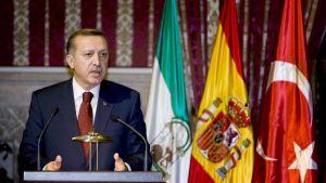 Turkiets premiärmninister Recep Tayyip Erdogan