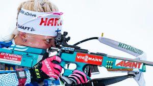 Kaisa Mäkäräinens skytte fungerade i sprinten i Oberhof.