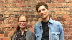 Maria Österåker och Markus Stenfors
