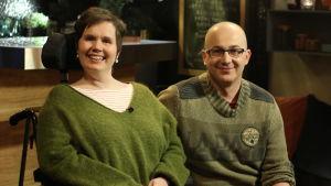 Lina och Dan Wickholm