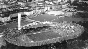 Helsingfors olympiastadion, 1952