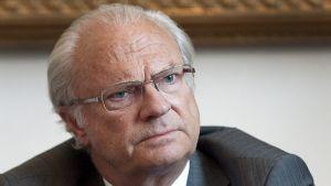 Sveriges kung Carl Gustaf.