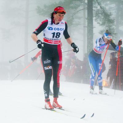 Justyna Kowalczyk, Oslo, våren 2016.