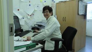 Ann-Sofie West är delägare i slakteriet Tajma och fungerade som VD till början av mars 2019