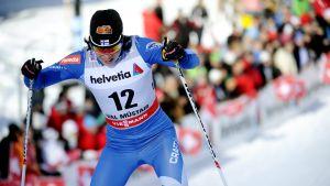 Krista Lähteenmäki, Tour de Ski 2012-13