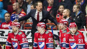 Antti Törmänen var förbannad efter matchen.