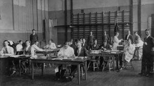 De akademiska sommarkurserna i Åbo 1917.