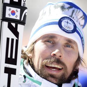Andreas Romar på OS.