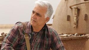 Saeid Sadeghi i närbild.