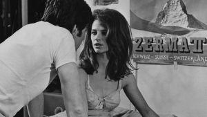 Charlotte Rampling i filmen Georgy Girl 1966.