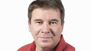 Johan Portin, sportchef på Yle Sporten.