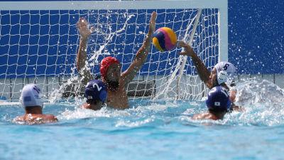 Grekland och Japan möttes i OS-2016 i Rio.