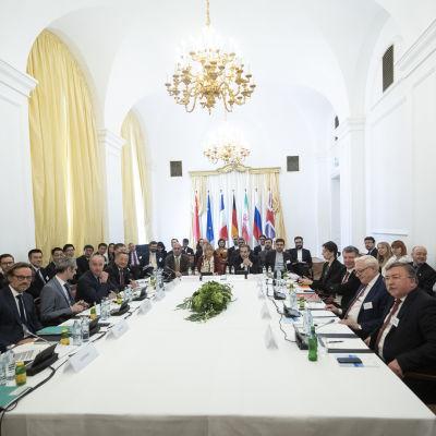 Irans kärnavtal förhandlas.