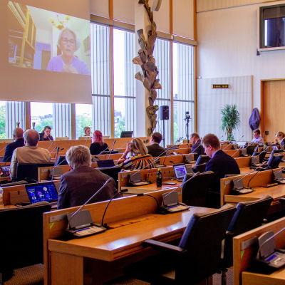 Tampereen kaupunginvaltuuston kokous