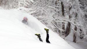 Snö i Moskva