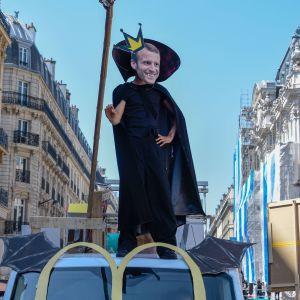 Manifestation i Paris
